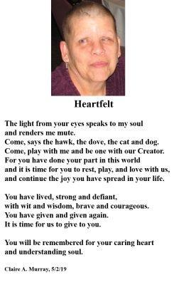 Poem for Pat 5/2/19