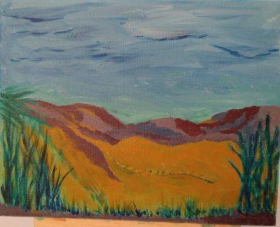 Desert Scene, original